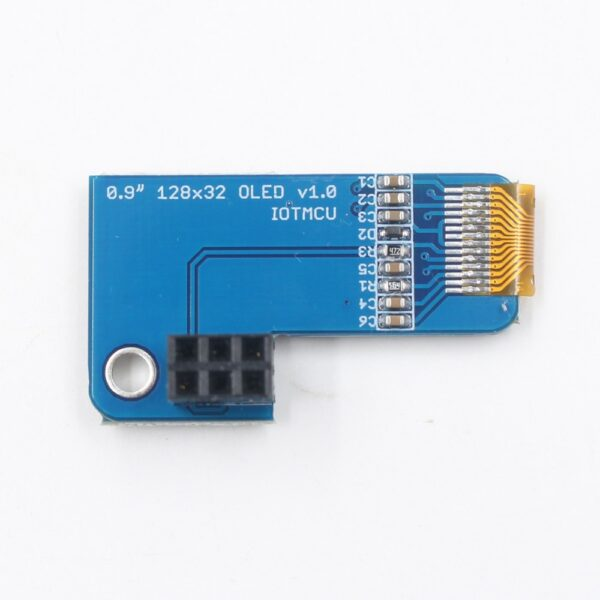 PiOLED OLED 0.91 Inch 128x32 for Raspberry Pi 4