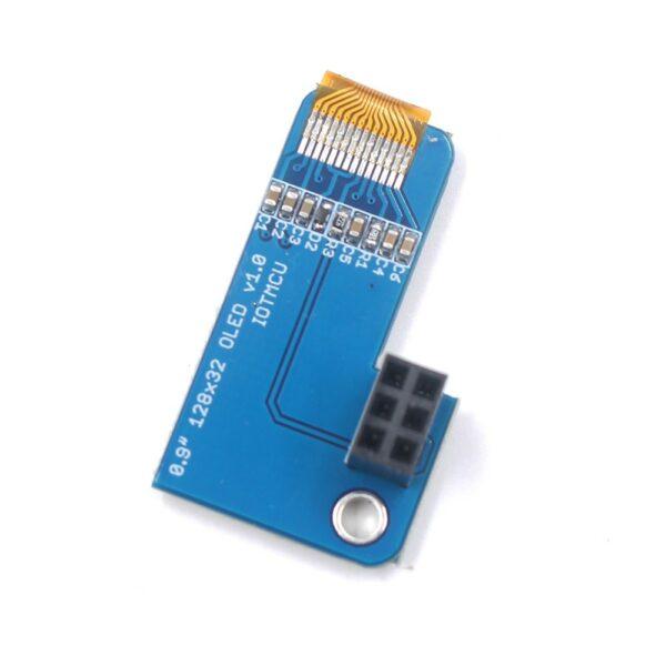 PiOLED OLED 0.91 Inch 128x32 for Raspberry Pi 3B+