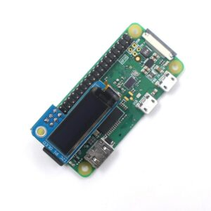 PiOLED OLED 0.91 Inch 128x32 for Raspberry Pi Zero W