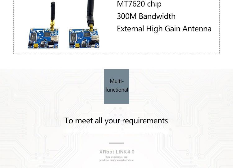 AR9331 Openwrt XRbot Link4.0 Wifi Module