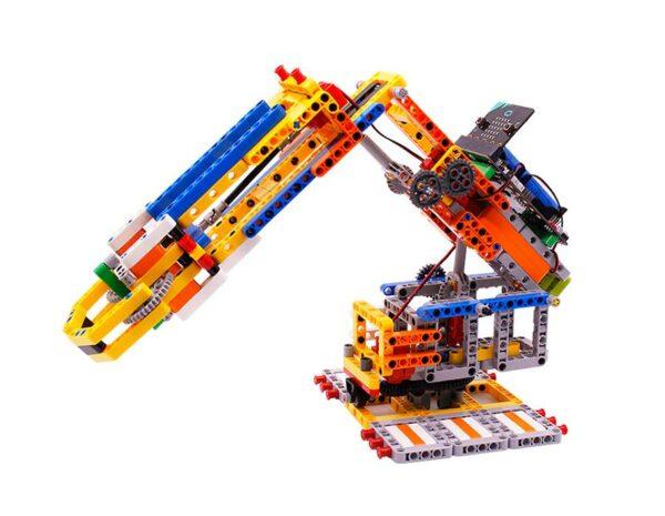 Programmable Toy STEM Building Block Arm:bit based