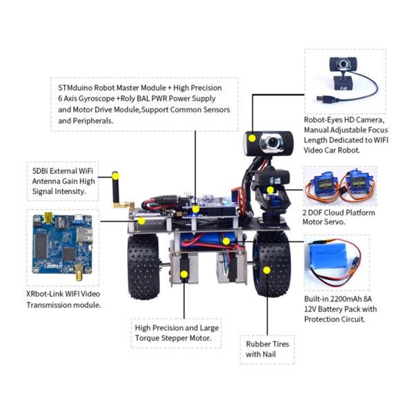 STM32 Programmable Balance Car WiFi Robot Car
