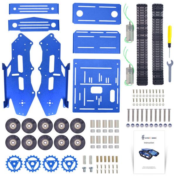 TH Tank Chassis Kit With 2WD Motors (4)