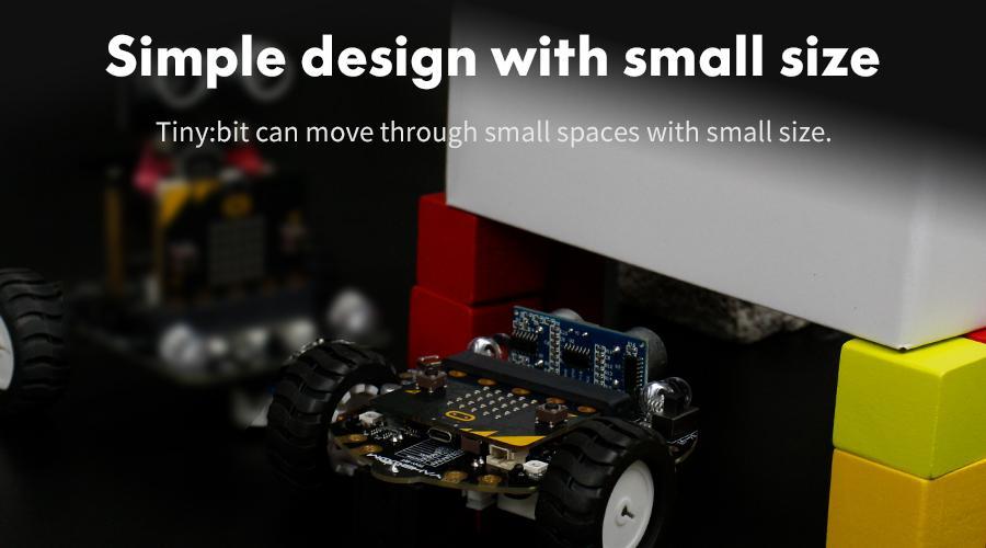Tiny:bit smart robot car for micro:bit