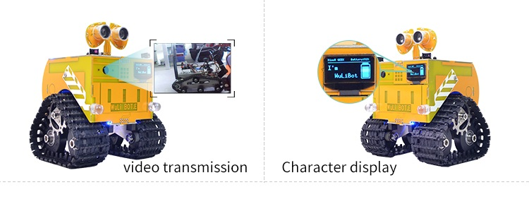 WULI Bot Scratch+Mixly STEAM Programmable Robot