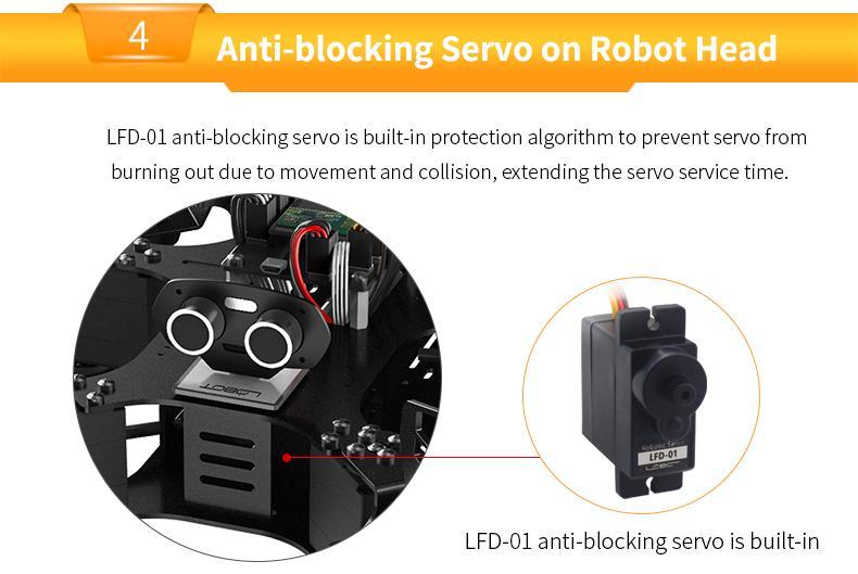 Hexapod Robot CR-6 Programmable Robot with Secondary Development