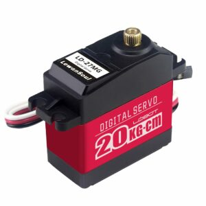 Digital Servo Motor with 270 Control Angle LD-27MG Full Metal Gear Aluminium Case for Robot RC Car