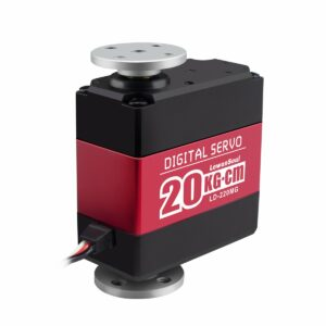 Digital Servo Motor with Dual Ball Bearing LD-220MG Full Metal Gear Metal