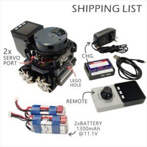 M5Stack Lidar Bot AGV Mini Car kit Compatible LEGO