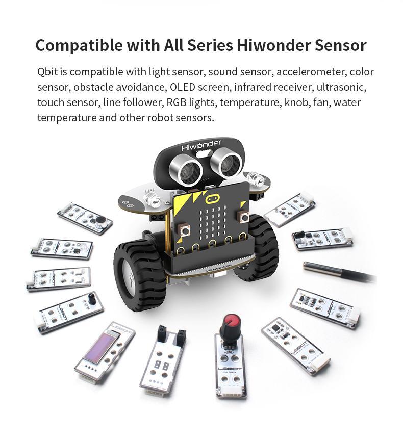 Micro:bit Qbit Balancing Robotic Car