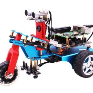 Trikebot smart robot Raspberry Pi 4B Robot Kit with WIFI camera